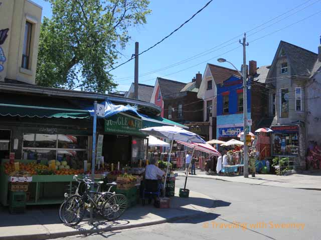 Fruitstand in Kensington Market