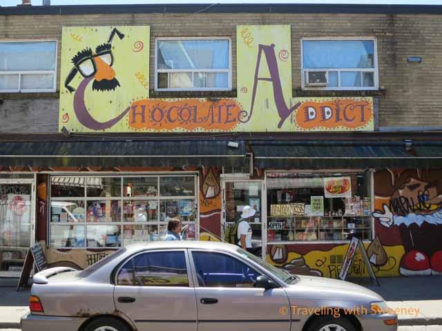 Chocolate Addict in Kensington Market