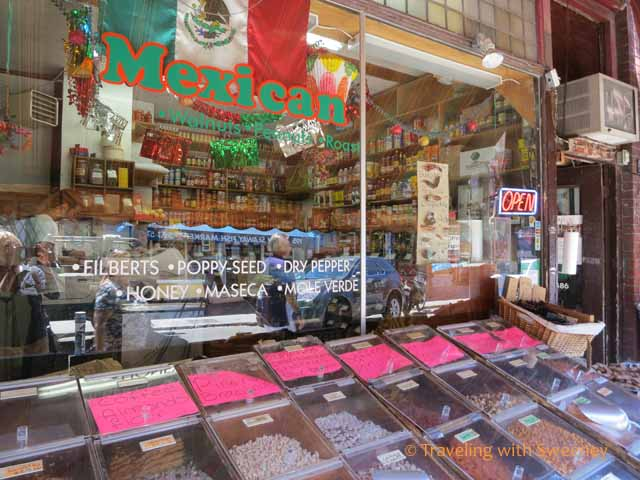 Mexican Market in Kensington Market Neighborhood