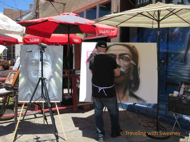 Artist at Electric Theatre