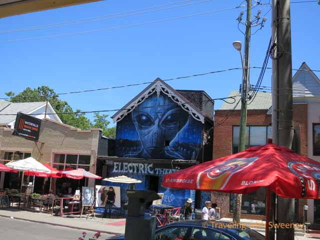 Electric Theatre in Kensington Market