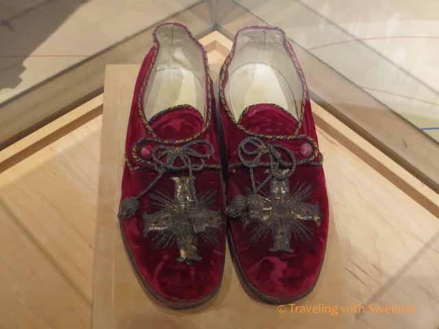 Pope Leo XIII shoe