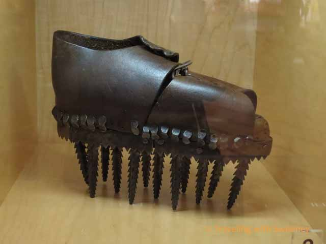 Chestnut Crushing Shoe