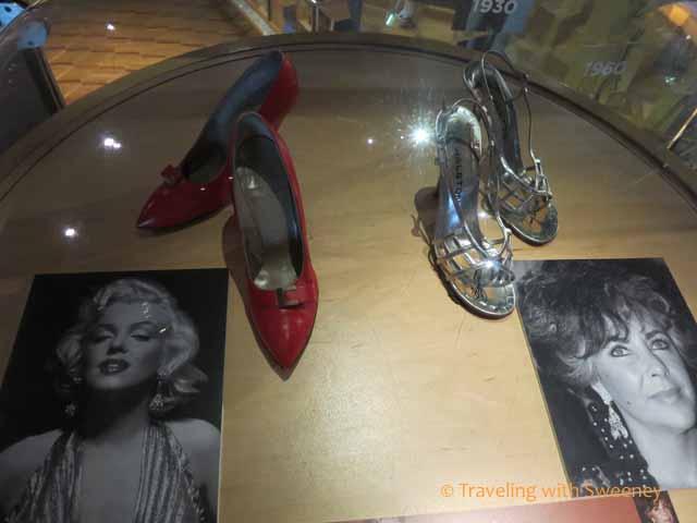 Mariyln Monroe and Elizabeth Taylor