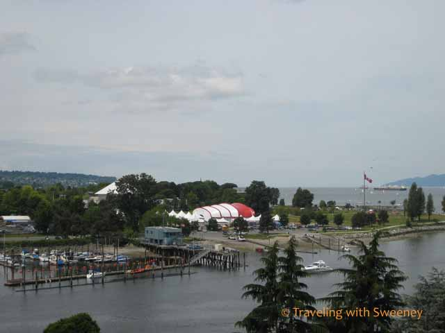 """Vancouver views from Burrard Street Bridge"""