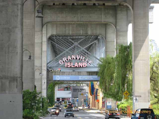 """Vancouver views of Granville Island"""