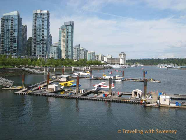 Vancouver views at Coal Harbour