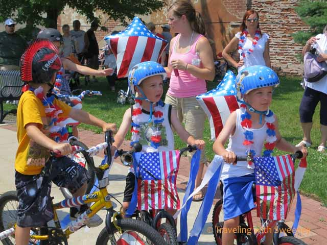 Kids & Bike Parade, Marinette