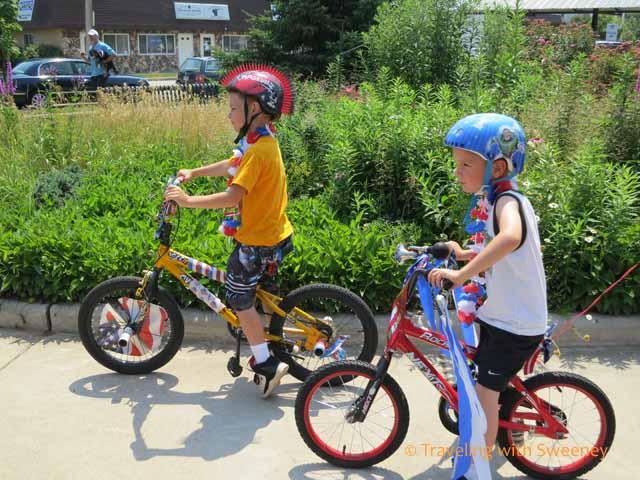 Kiddie Bike & Pet Parade, Marinette