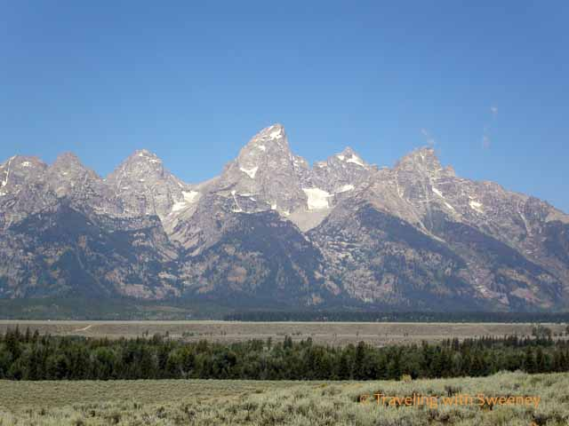Grand Tetons in Wyoming