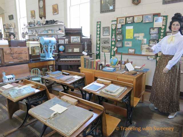School Room at Peshtigo Fire Museum