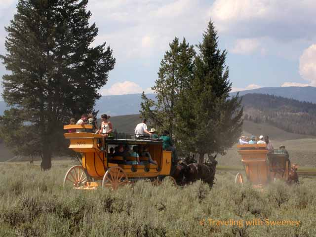 Stagecoach at Yellowstone
