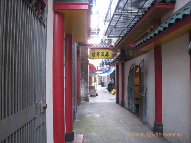 Old Chinatown Lane, San Francisco