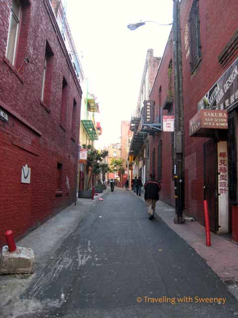 Spofford Street, Chinatown San Francisco