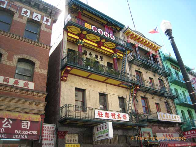 Waverly Place, Chinatown San Francisco