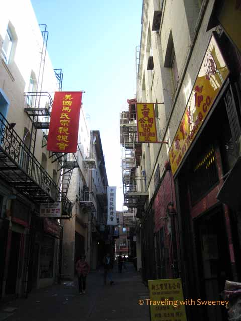 Alley in Chinatown