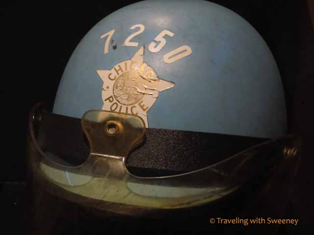 Chicago Police Helmet