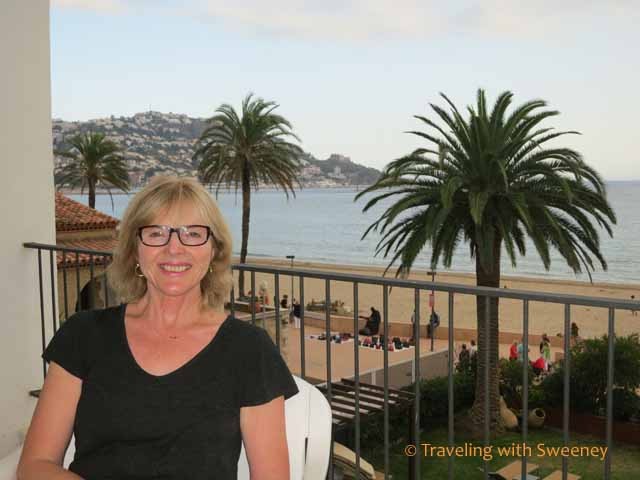 Cathy Sweeney in Roses, Spain