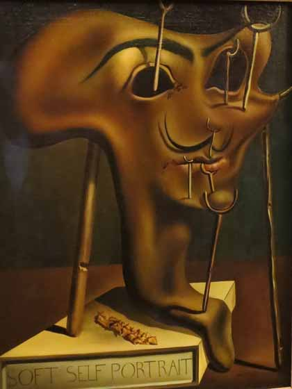 Salvador Dali, Soft Self Portrait