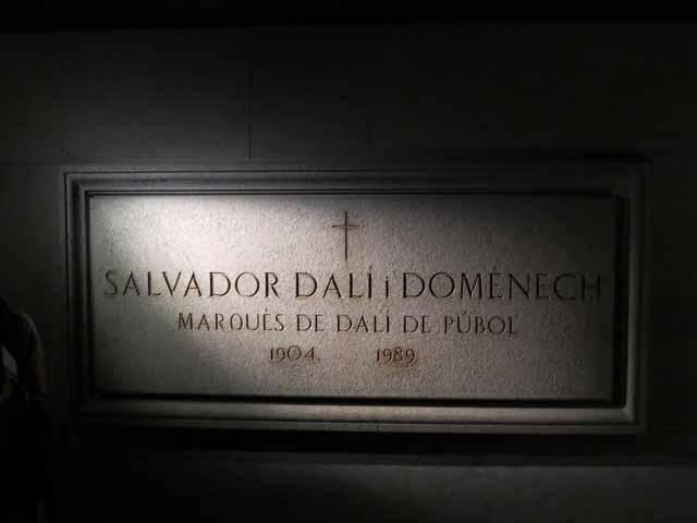 Salvador Dali's Crypt