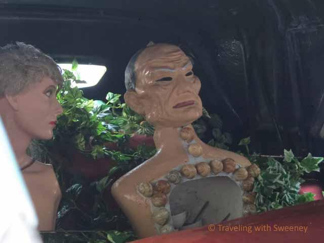 "Mannequin's in Dali's ""Rainy Cadillac"""