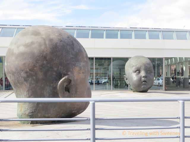 Madrid Baby Heads Sculpture