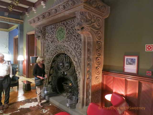 Fireplace in Vincon