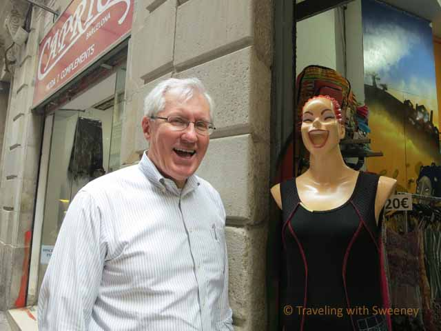 Mr. TWS and Barcelona Mannequin