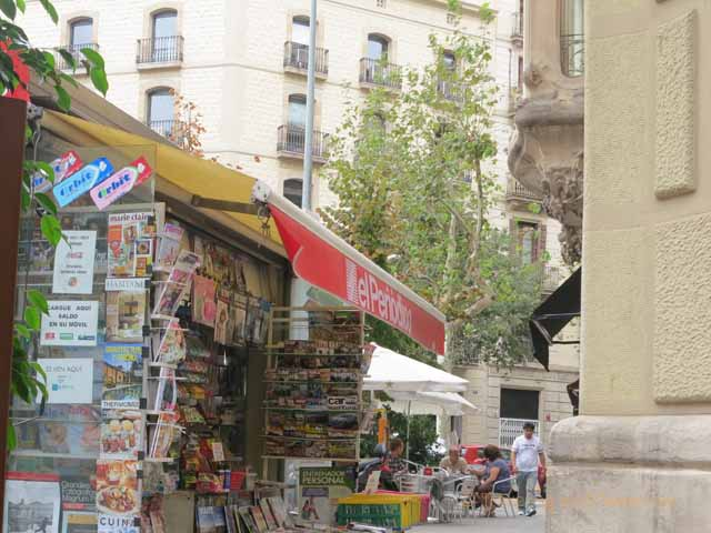 """""""Newsstand in Eixample"""""""