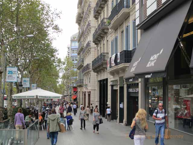 """""""Eixample Barcelona: Passeig de Gracia"""""""