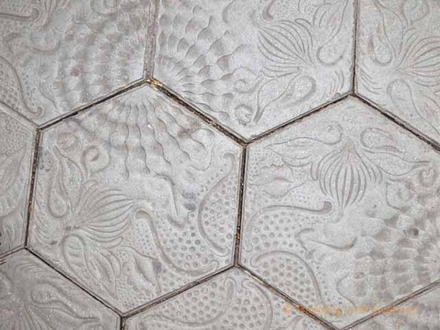 """""""Gaudi's tiles along Passeig de Gracia"""""""