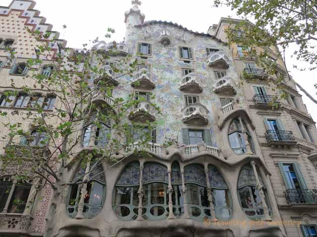 """Casa Battlo, Barcelona"""