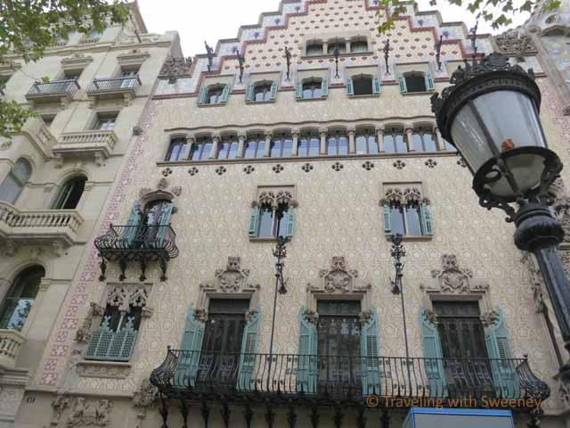 """Casa Amatller by Josep Puig i Cadfaich"""