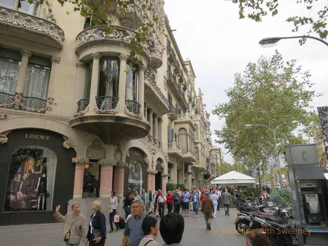"""Loewe's on Passeig de Gracia"""