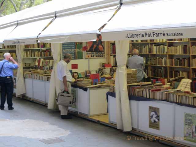 """""""Booksellers along Passeig de Gracia"""""""
