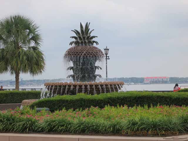 """Fountain in Charleston, South Carolina"""