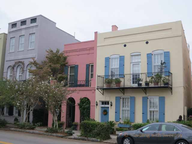 """Colorful Homes in Charleston, South Carolina"""