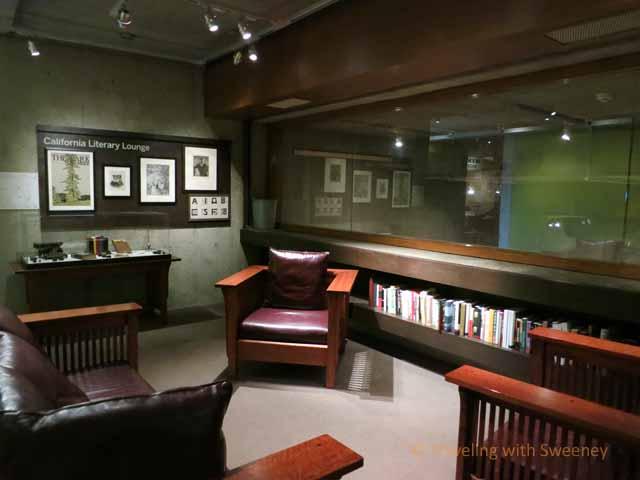 """Sitting Area in Oakland Museum of California"""