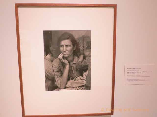 """Migrant Mother by Dorthea Lange"""