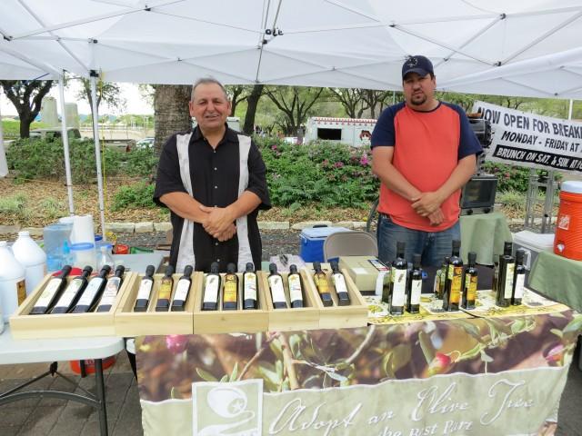 """Vendors at Farmers Market in Houston, Texas"""