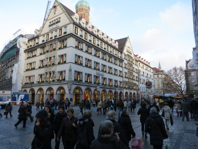 """""""Munich Marienplatz"""""""