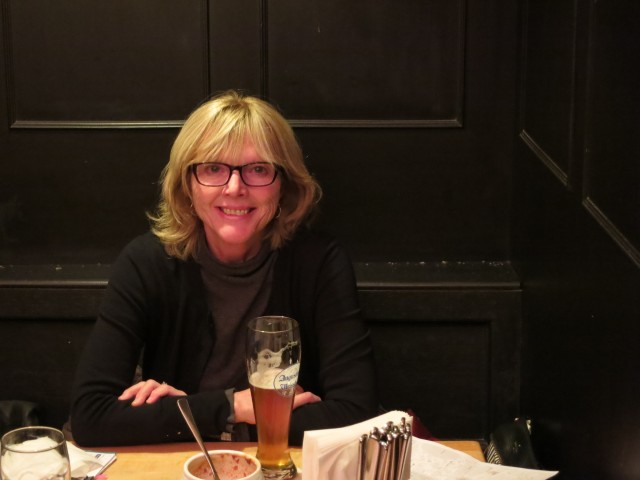 """""""Cathy at Augustiner"""""""