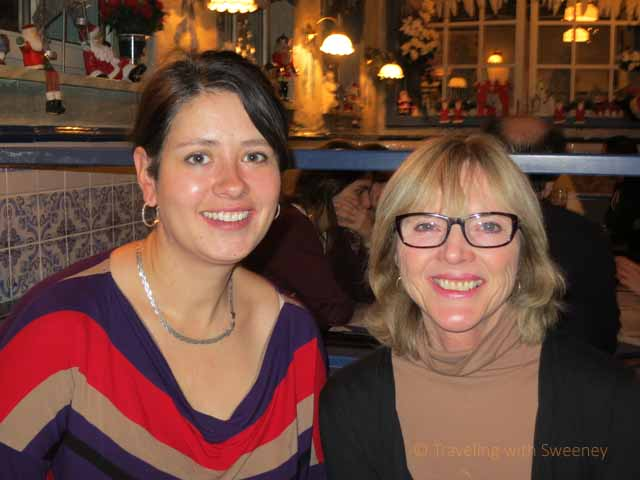 """Faces and Places: Blogger Laurel Robbins with Cathy in Munich"""