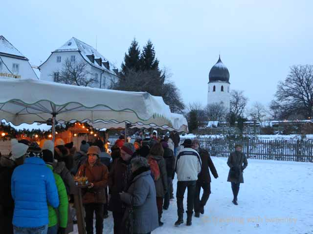 """Frauenchiemsee Island Christmas Market, Germany"""