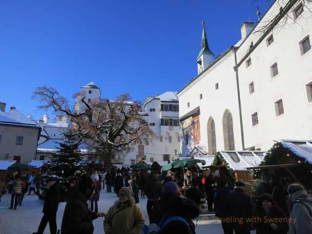 """Hohensalzburg Fortress Christmas Market"""