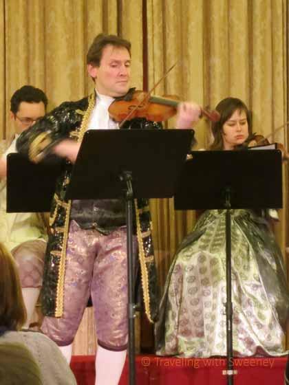 """""""Violinist at Concert in Vienna"""""""