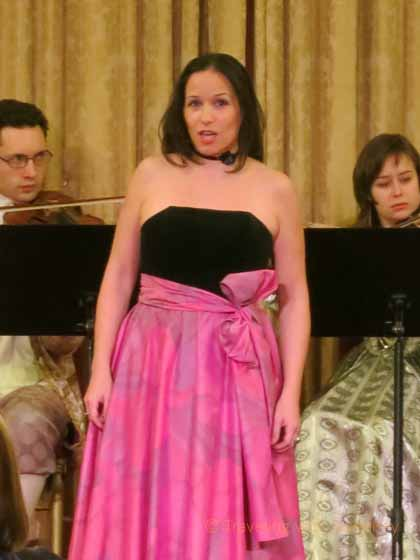 """""""Opera Singer at Concert in Vienna"""""""