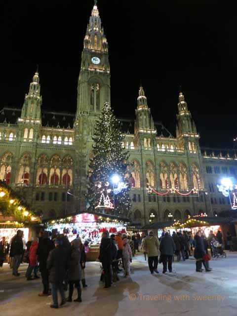 """""""Rathaus Christmas Market in Vienna, Austria"""""""