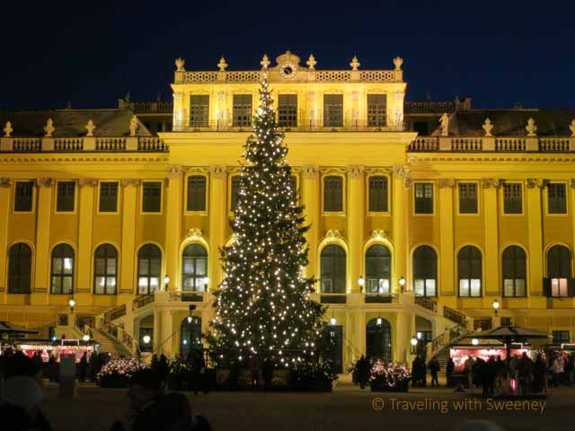 """The Romance of Schonbrunn Palace at Christmas"""