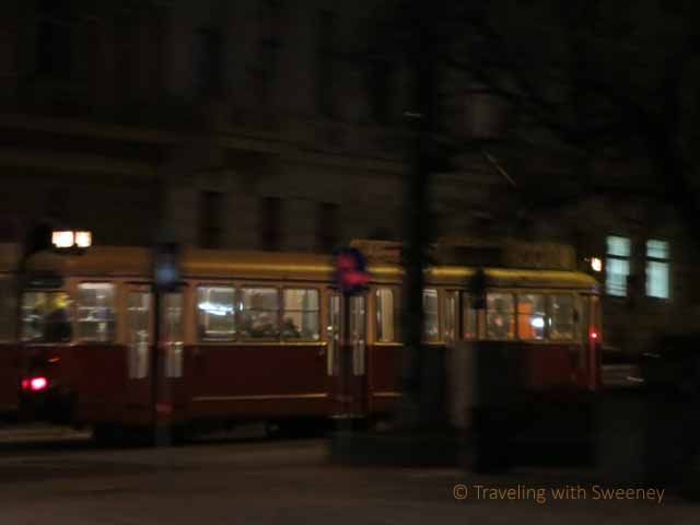 """The Vienna streetcars evoke a romantic feeling"""